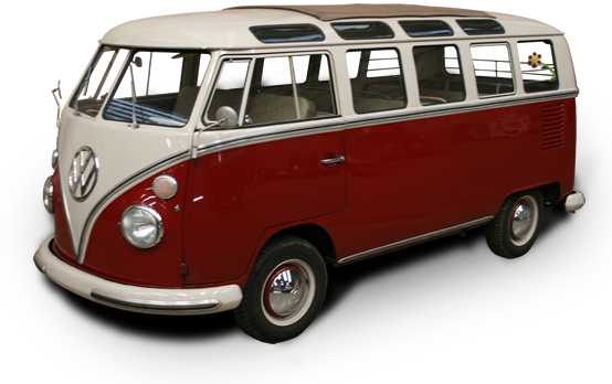 VW Bordeaux T1 Samba